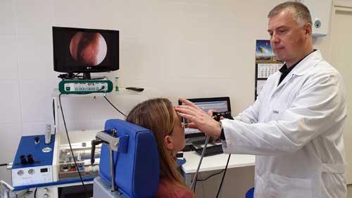 Консультация ЛОР, эндоскопия полости носа